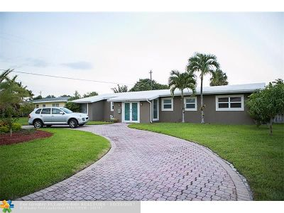 Lighthouse Point Single Family Home For Sale: 3232 NE 27th Ave