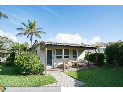 Hillsboro Beach Condo/Townhouse For Sale: 1225 Hillsboro Mile #G2