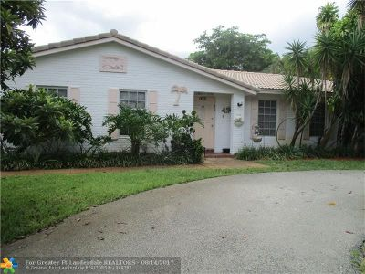 Coral Springs Single Family Home For Sale: 8398 NW 16th St