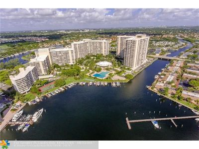 Hallandale Condo/Townhouse For Sale: 500 Three Islands Blvd #1102