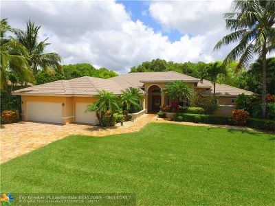 Davie Single Family Home For Sale: 2290 SW 102nd Dr