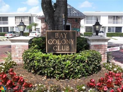 Fort Lauderdale Condo/Townhouse For Sale: 6363 Bay Club Dr. #1