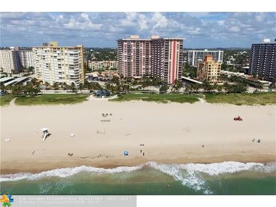 Pompano Beach Condo/Townhouse For Sale: 405 N Ocean Blvd #802