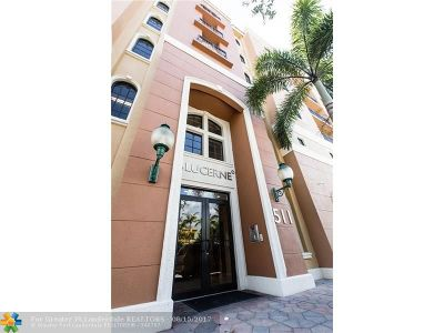 Lake Worth Condo/Townhouse For Sale: 511 Lucerne Ave #403