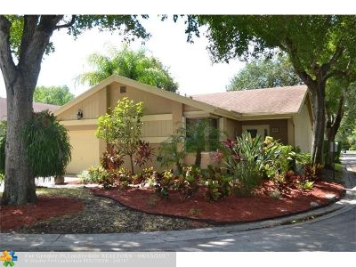 Coconut Creek Single Family Home For Sale: 4436 Cordia Cir