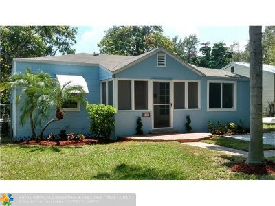 Fort Lauderdale Single Family Home For Sale: 300 SW 11th St