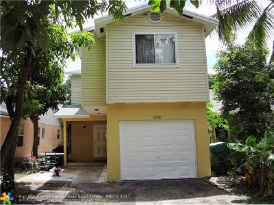 Lauderhill Single Family Home For Sale: 5398 NW 23rd St