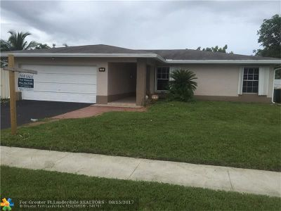 Tamarac Single Family Home For Sale: 8116 NW 74th Ave