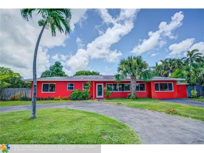 Fort Lauderdale Single Family Home For Sale: 2506 NE 30th St