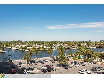 Fort Lauderdale Condo/Townhouse For Sale: 3233 NE 34th St #607
