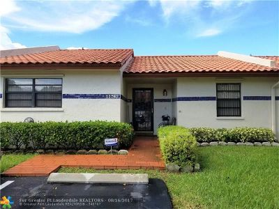 Cooper City Condo/Townhouse For Sale: 11267 SW 59th Pl #.