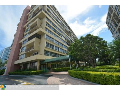 Fort Lauderdale Condo/Townhouse For Sale: 1170 N Federal Hwy #1104