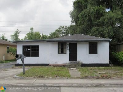 Fort Lauderdale Single Family Home For Sale: 2812 NW 6th Ct