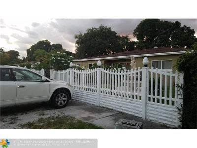 Miami Single Family Home For Sale: 335 NE 160th St