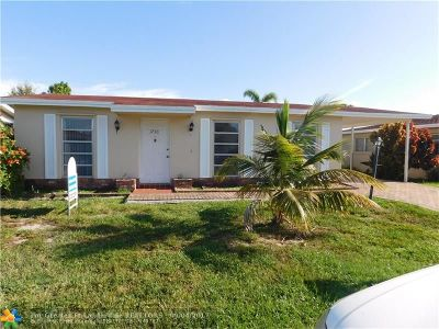 Deerfield Beach Single Family Home For Sale: 1730 NW 49th St
