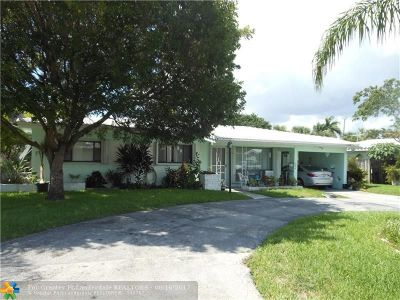 Lauderdale By The Sea Single Family Home For Sale: 1972 Windward Dr