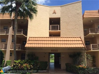 Margate Condo/Townhouse For Sale: 6550 Royal Palm Blvd #205
