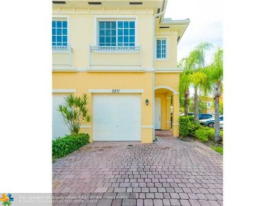 Miramar Condo/Townhouse For Sale: 2871 SW 81st Ter #1508