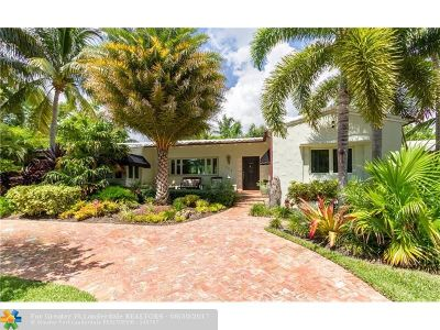 Fort Lauderdale Single Family Home For Sale: 309 Coral Way