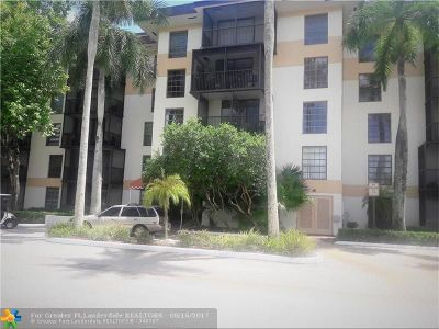 Lauderhill Condo/Townhouse For Sale: 5550 NW 44th St #407-B