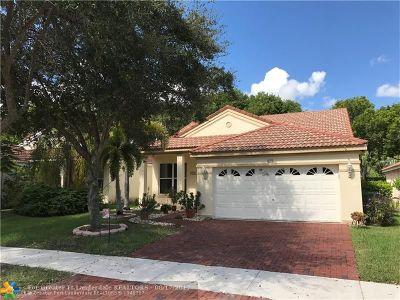 Weston Single Family Home For Sale: 825 Sand Creek Cir