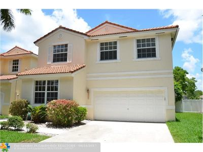 Coral Springs Single Family Home For Sale: 11131 NW 46th Dr