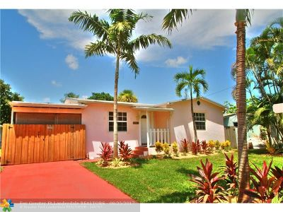 Fort Lauderdale Single Family Home For Sale: 1315 SW 30th St