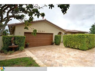 Coral Springs Single Family Home For Sale: 8264 NW 16th St