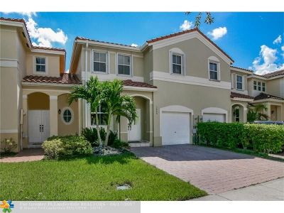 Miramar Condo/Townhouse For Sale: 3809 SW 170th Ave #170