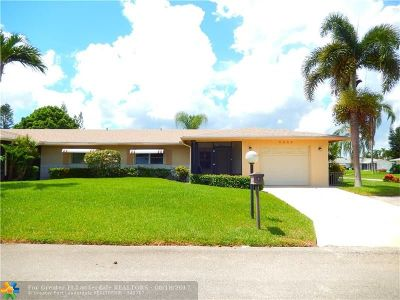 Delray Beach Single Family Home For Sale: 6069 Stanley Ln