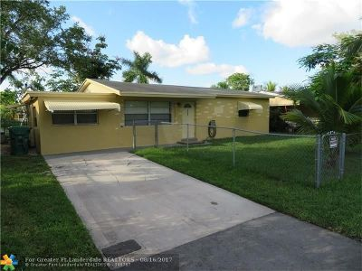 Fort Lauderdale Single Family Home For Sale: 4257 SW 49th Ct