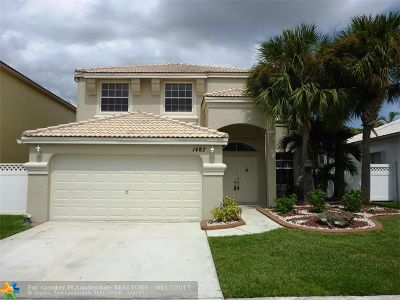 Pembroke Pines Single Family Home For Sale: 1487 NW 159th Ln