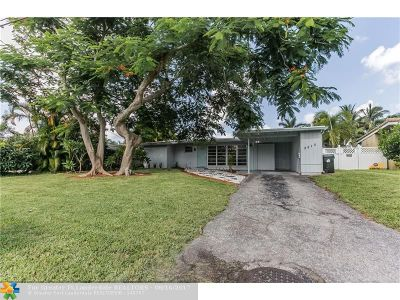 Fort Lauderdale Single Family Home For Sale: 2513 Gulfstream Ln