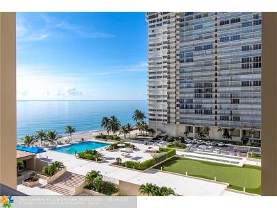 Fort Lauderdale Condo/Townhouse For Sale: 4300 N Ocean Blvd #7G