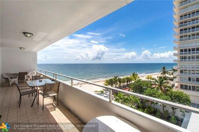 Fort Lauderdale Condo/Townhouse For Sale: 4040 Galt Ocean Dr #510