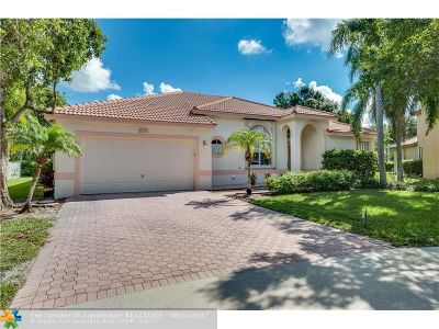 Coconut Creek Single Family Home For Sale: 6428 Mallards Way