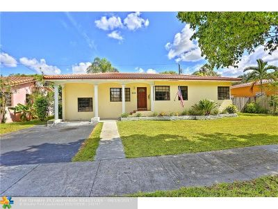 Miami Single Family Home For Sale: 4519 SW 16th St