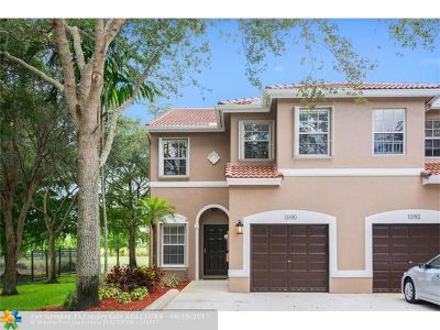 Plantation Condo/Townhouse Backup Contract-Call LA: 13190 NW 7th Pl #13190