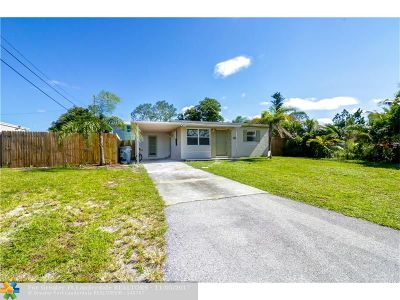 Pompano Beach Single Family Home For Sale: 2632 NE 13th Ave