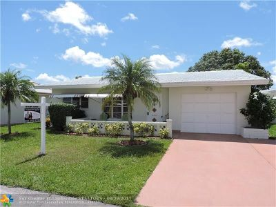 Tamarac Single Family Home For Sale: 7102 NW 72nd St