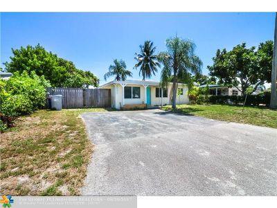 Pompano Beach Single Family Home For Sale: 2880 NE 12th Ter