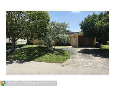 Lauderdale By The Sea Single Family Home For Sale: 238 Oceanic Ave