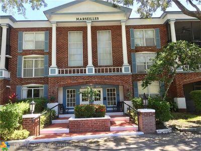 Lauderhill Condo/Townhouse For Sale: 3660 Inverrary Dr #1H