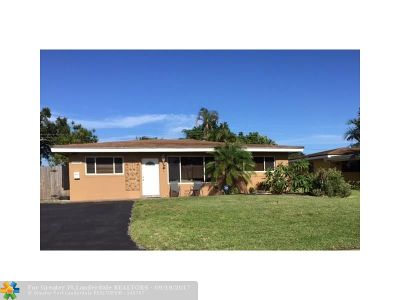 Hollywood Single Family Home For Sale: 2141 N 56th Ter