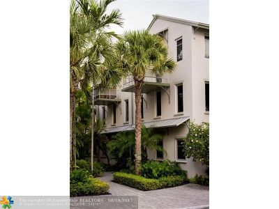 Fort Lauderdale Condo/Townhouse For Sale: 816 SW 4th Ave #10