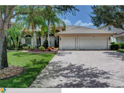 Coral Springs Single Family Home For Sale: 12312 NW 50th Pl