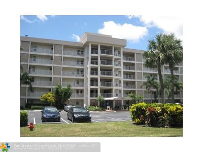 Pompano Beach Condo/Townhouse For Sale: 3001 S Course Dr #610