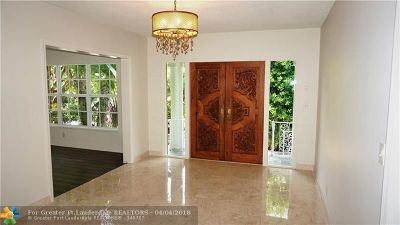 Broward County Single Family Home For Sale: 607 3rd Key Dr