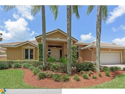 Weston Single Family Home For Sale: 1221 S Manor Dr