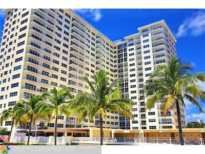 Pompano Beach Condo/Townhouse For Sale: 111 N Pompano Beach Blvd #1503